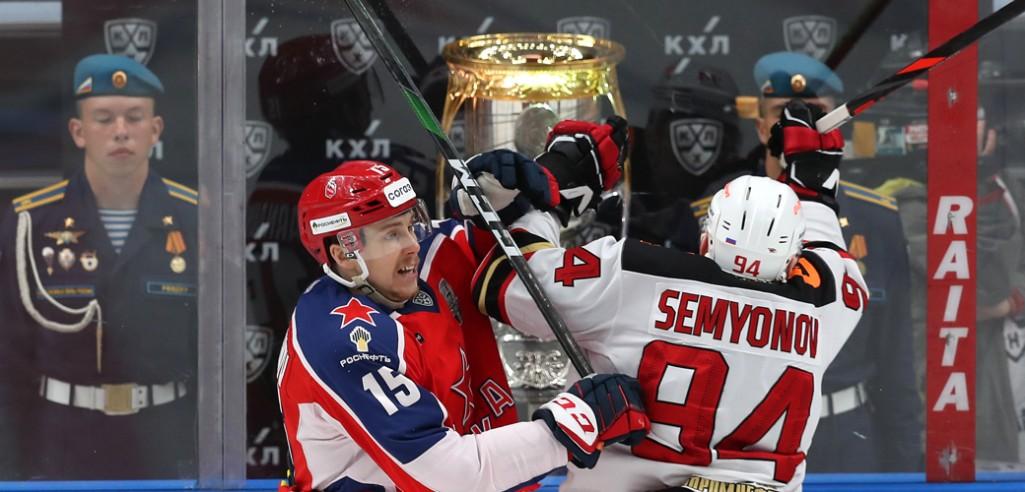 ЦСКА и Авангард едут в Балашиху при равном счёте. Превью третьего матча
