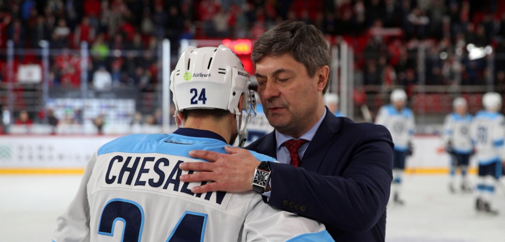 Андрей Мартемьянов стартовал в Сибири с победы