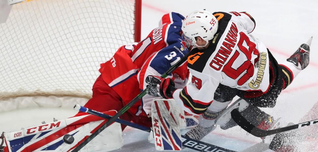 ЦСКА сравнял счёт в серии с Авангардом, Юханссон установил рекорд
