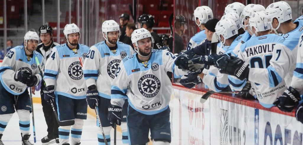 Сибирь отыгралась с 0:2 и прервала серию поражений