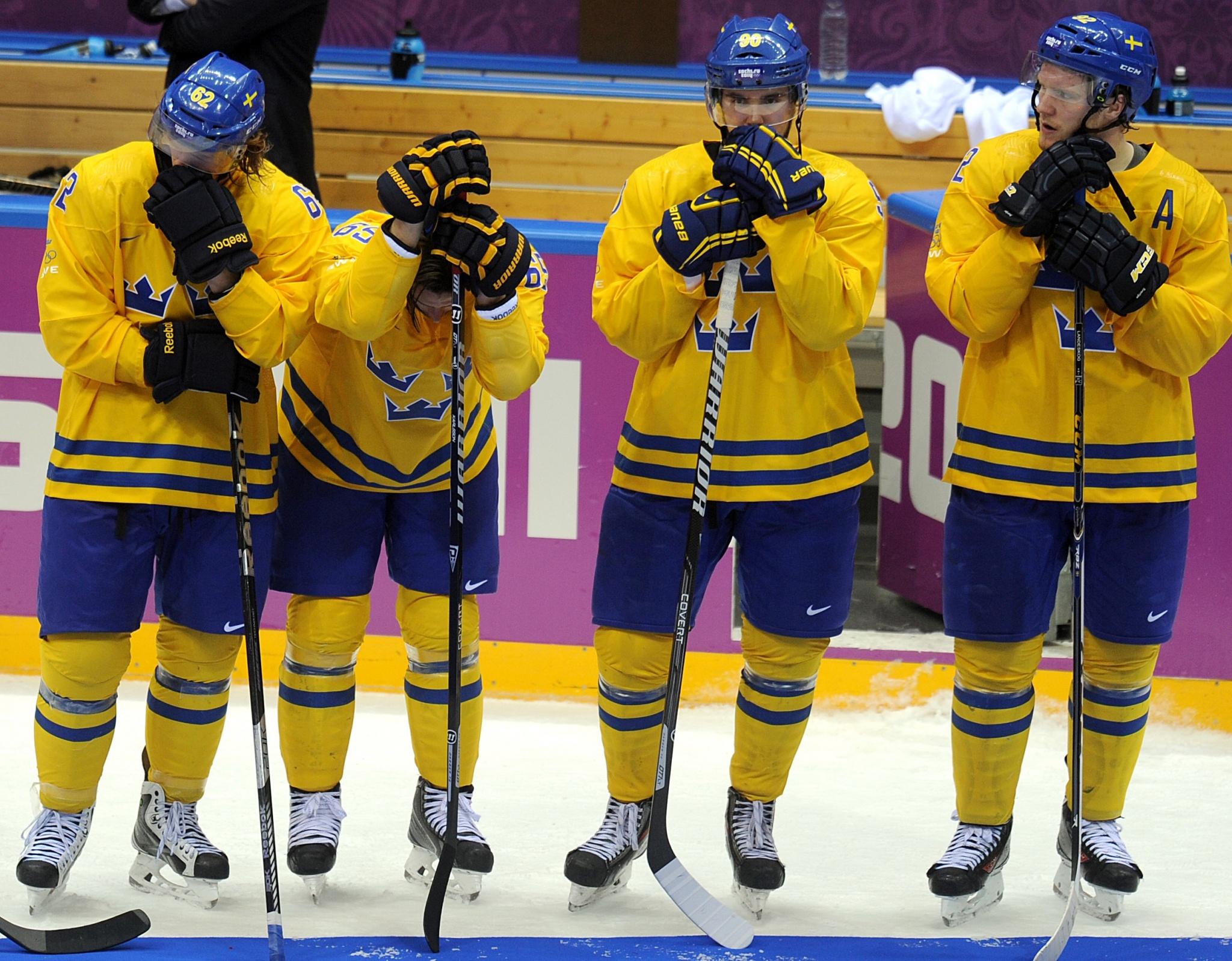 Сборная Швеции на Олимпиаде-2014