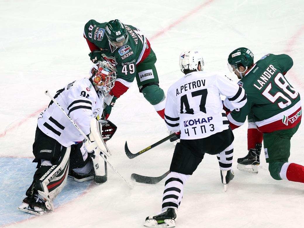 «АкБарс» стал первым финалистом Кубка Гагарина КХЛ