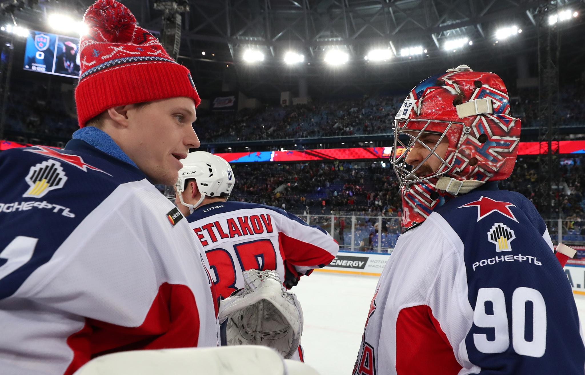 Ларс Юханссон и Илья Сорокин. Фото: Юрий Кузьмин