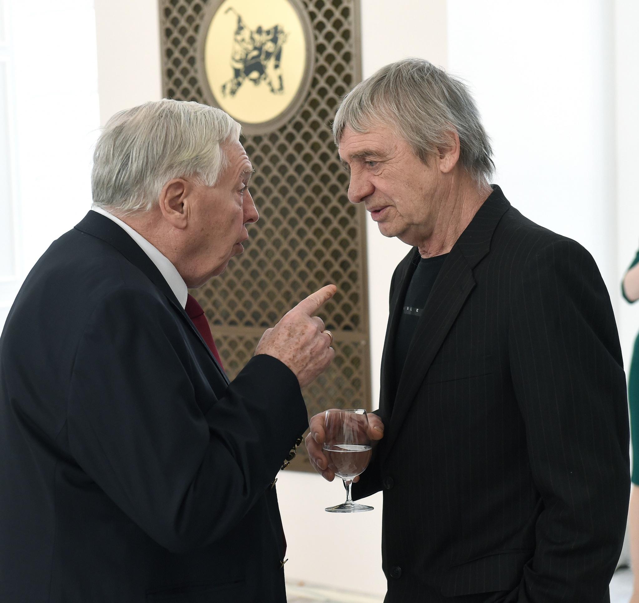 Виктор Полупанов и Александр Бодунов. Фото: Владимир Беззубов