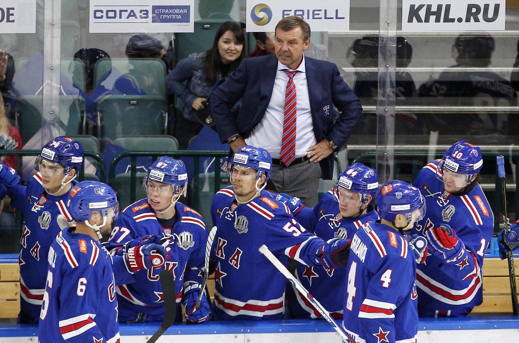 СКА установил рекорд КХЛ, одержав 13-ю победу подряд настарте стабильного чемпионата