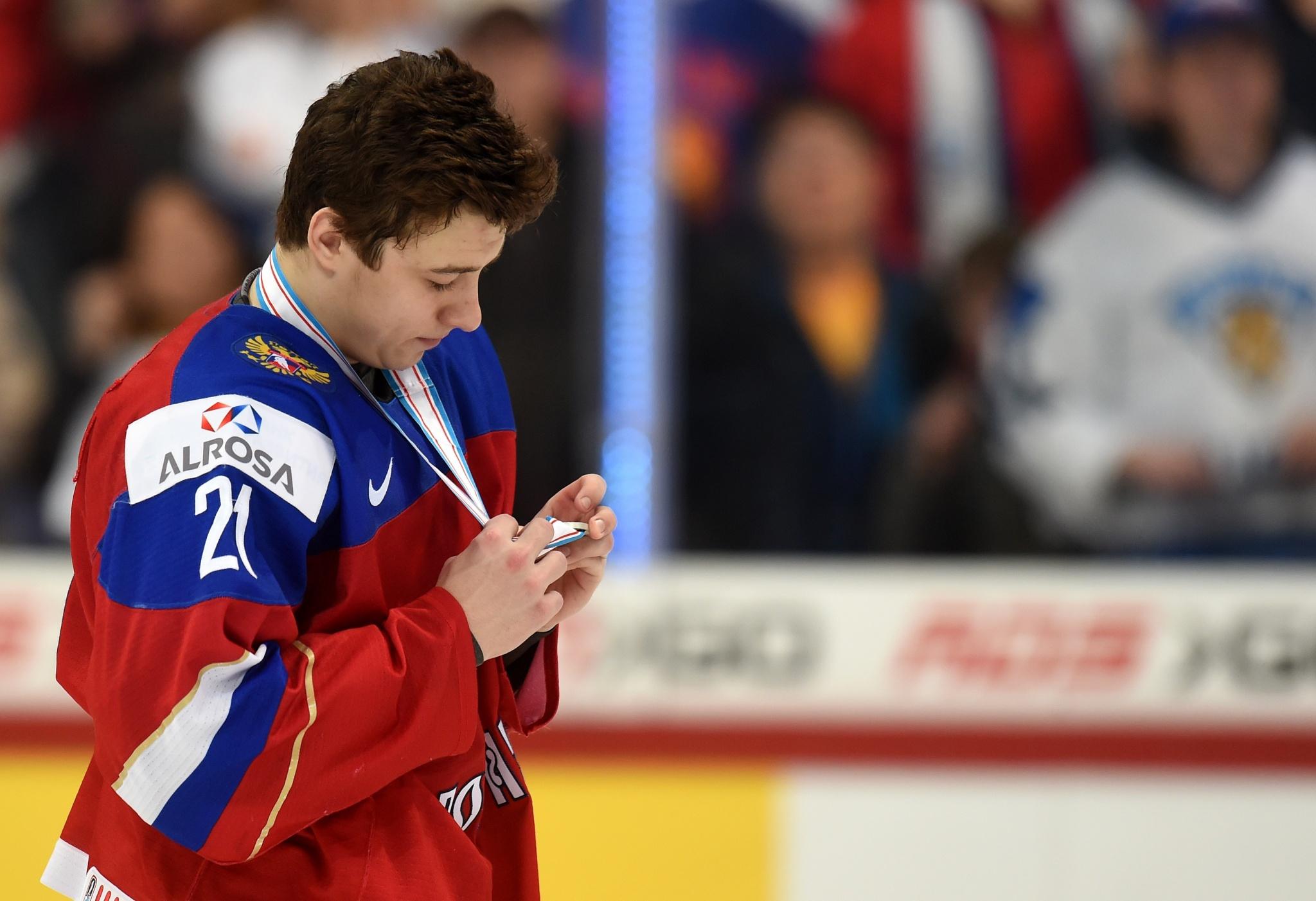 Андрей Кузьменко после финала МЧМ-2016. Фото: Юрий Кузьмин