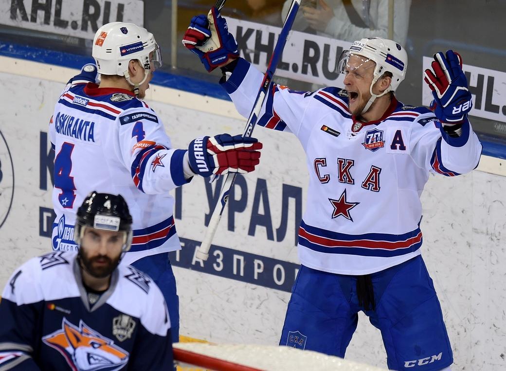«Металлург» сравнял счёт в заключительной серии хоккейного Кубка Гагарина против СКА