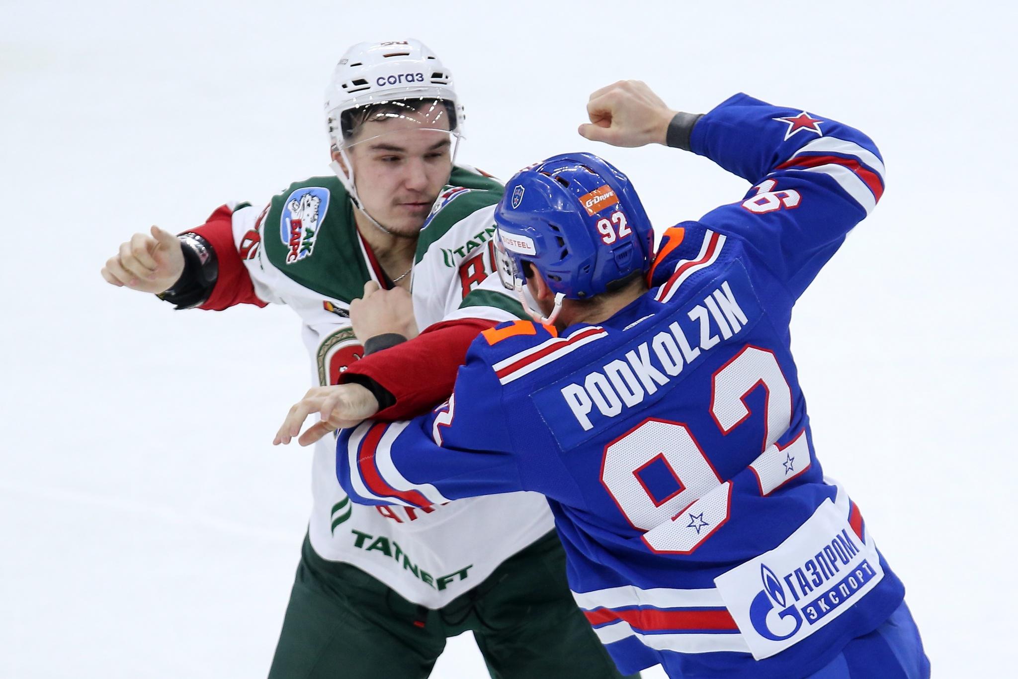 Никита Дыняк и Василий Подколзин. Фото: Илья Смирнов