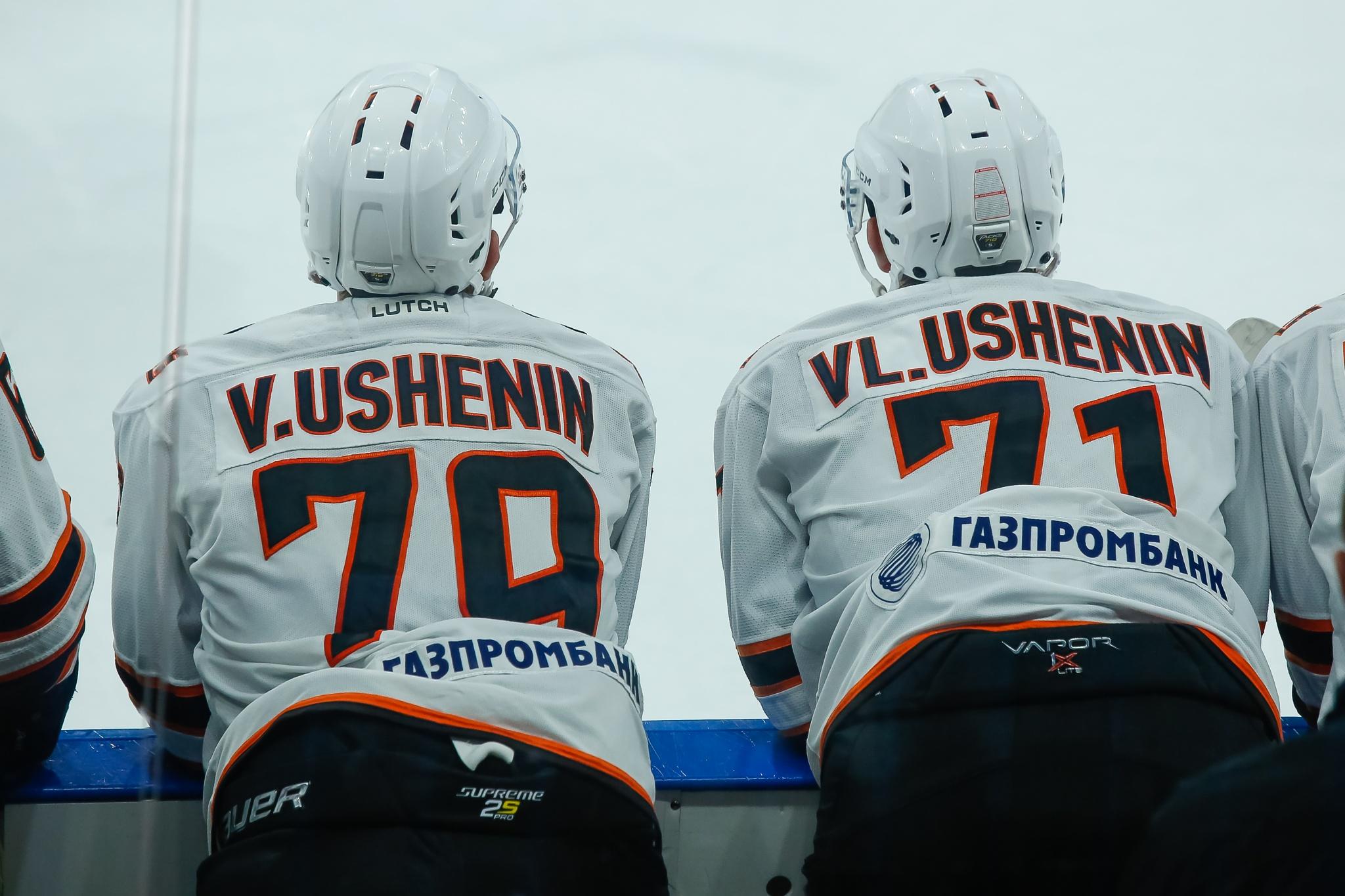 Вячеслав и Владиславы Ушенины. Фото: Максим Шмаков