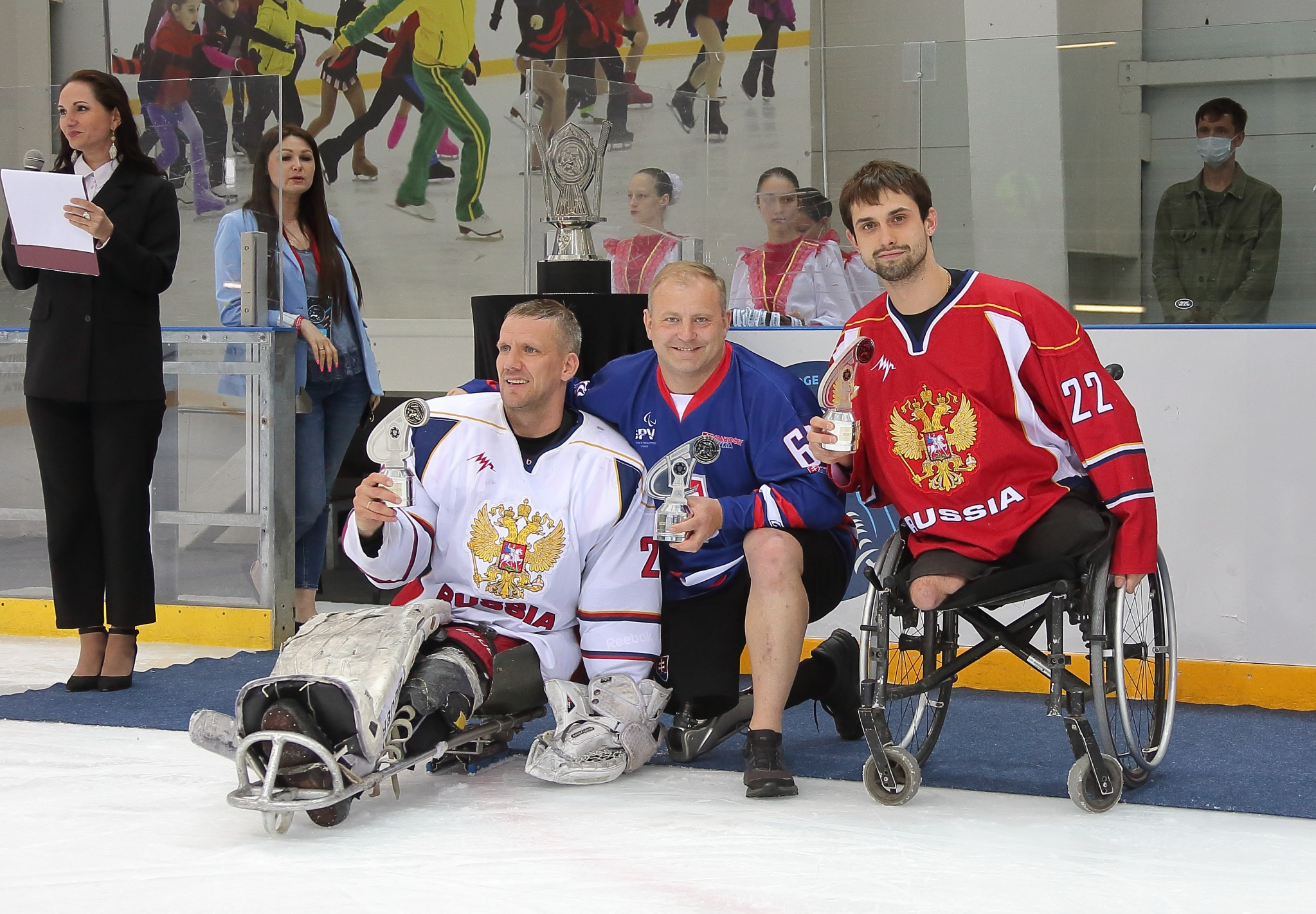 Владимир Каманцев, Славомир Ференчик и Николай Терентьев. Фото: Дмитрий Бондаренко