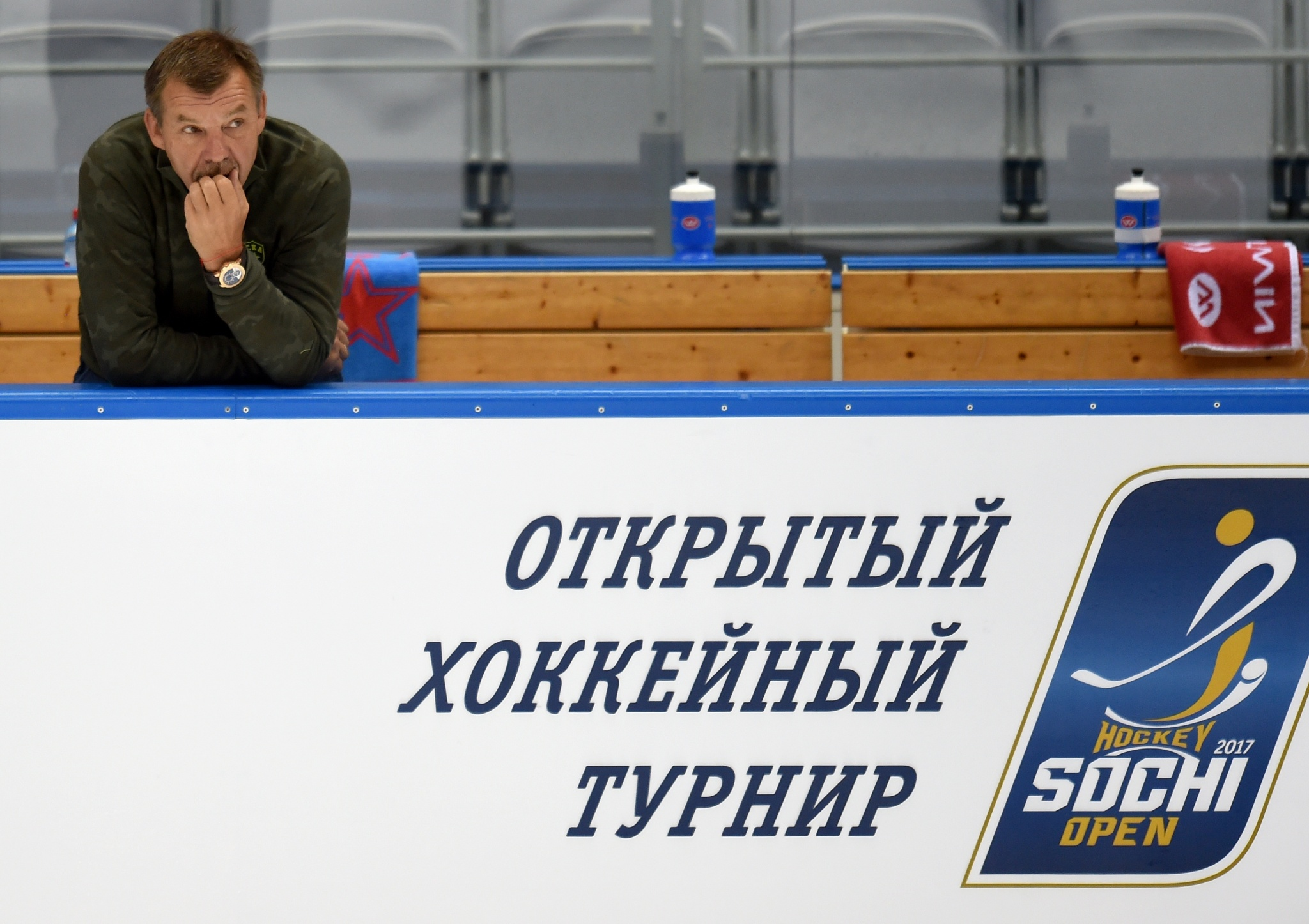 Кубок Гагарина выставят навсех матчах Sochi Hockey Open