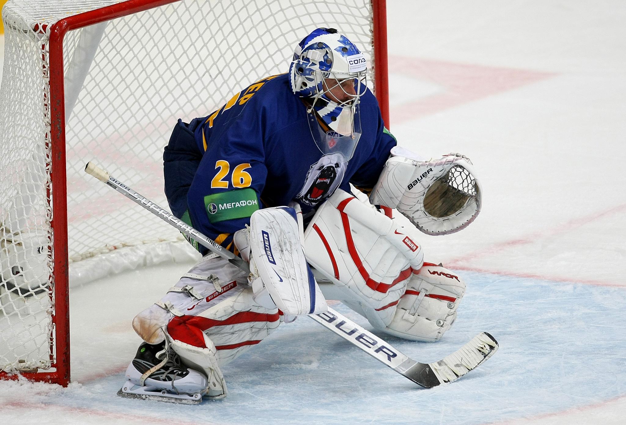 KHL: Martin Gerber – The League's First Swiss Player