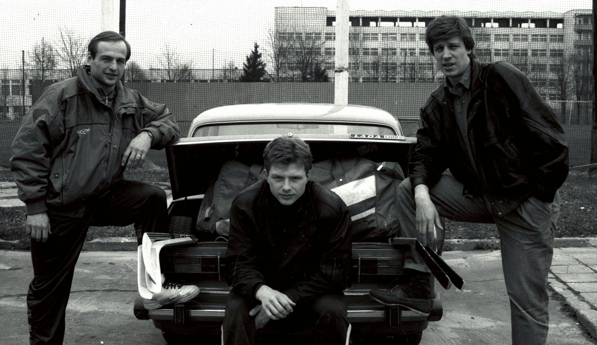 Илья Бякин, Алексей Жамнов и Дмитрий Миронов. Фото: Владимир Беззубов