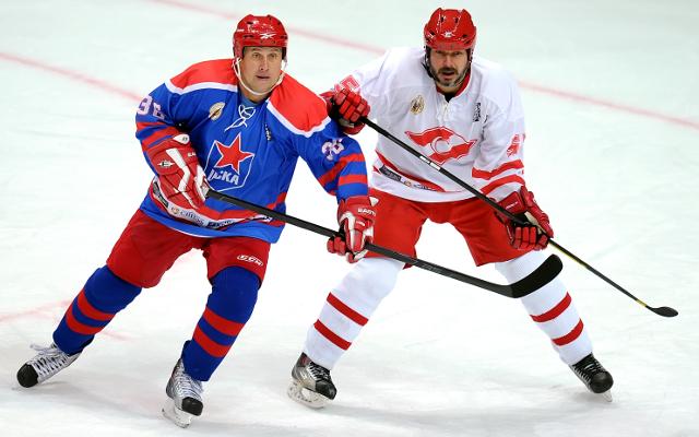 ВМоскве состоялась пресс-конференция, посвященная хоккейному турниру «Кубок Легенд»