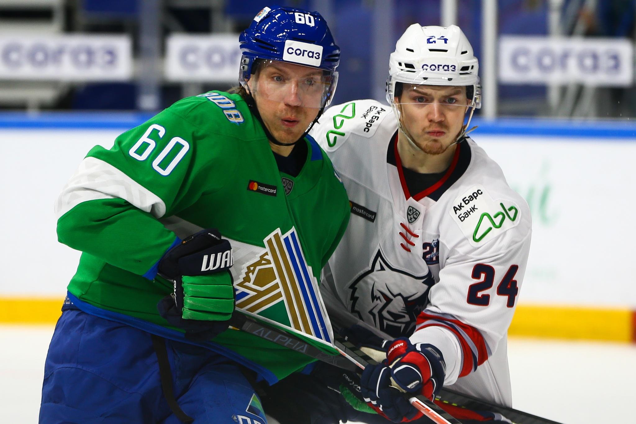 Сакари Маннинен и Павел Порядин. Фото: Светлана Садыкова