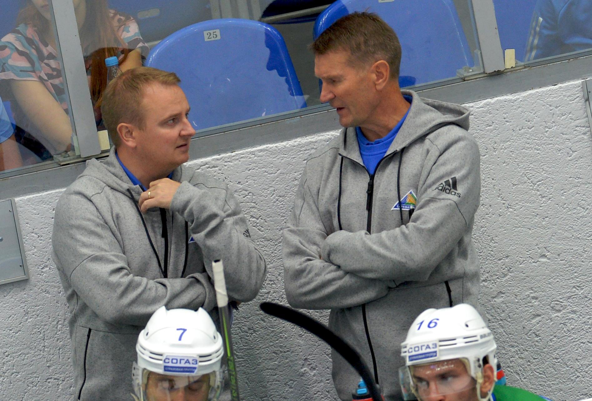 Томи Лямся и Эркка Вестерлунд. Фото: Григорий Соколов