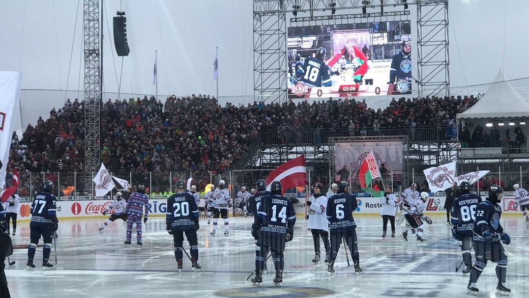 KHL: Riga's Winter Ice Break Is A Hit!