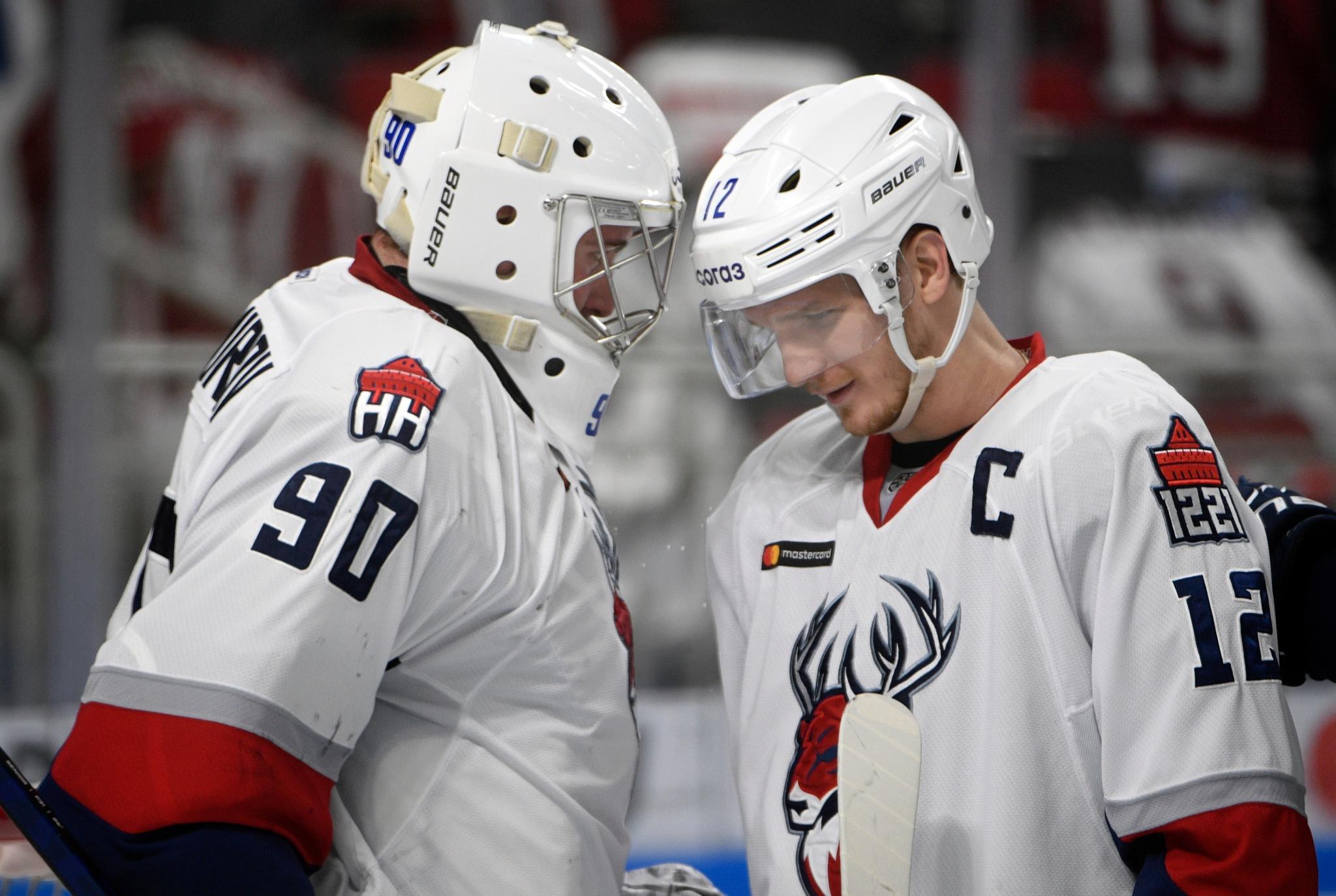 Андрей Тихомиров и Антон Шенфельд. Фото: Роман Кокшаров