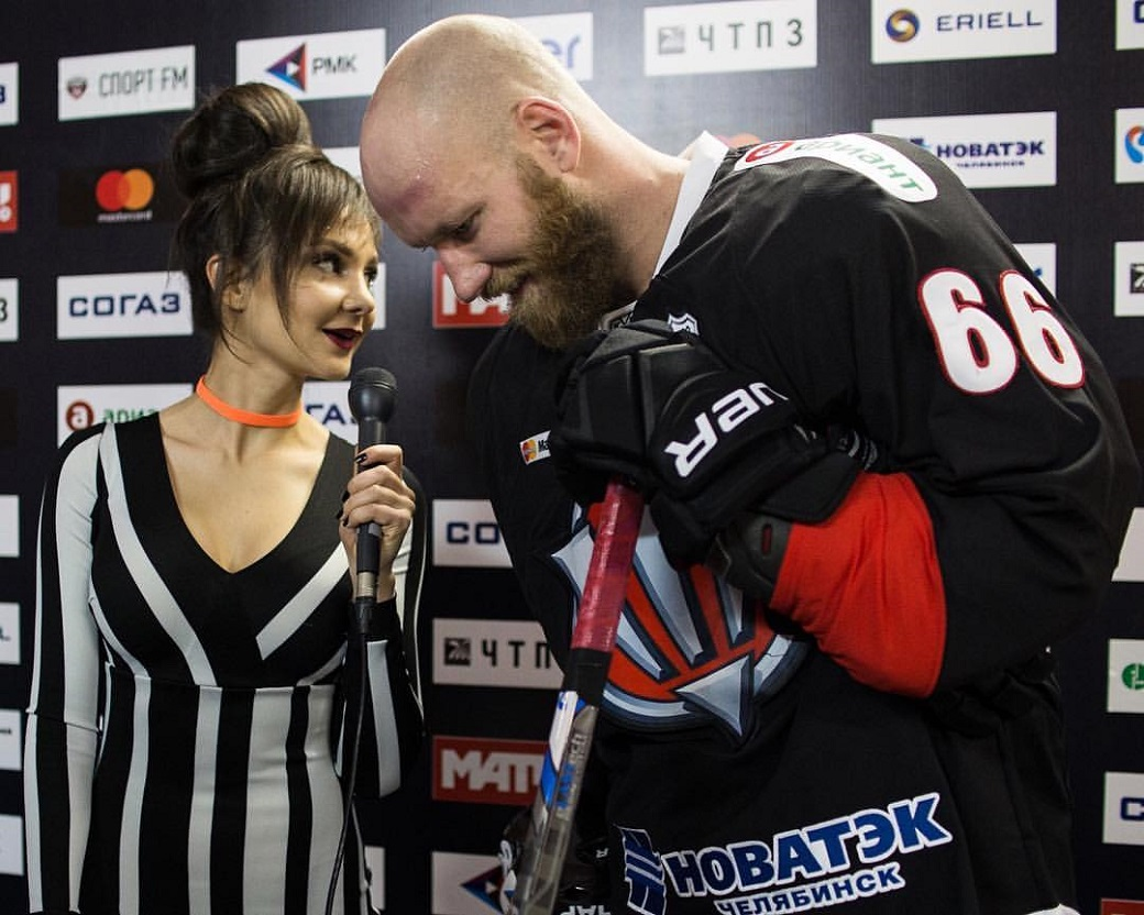 "KHL: Sonia Gudim - ""Women Love Hockey Because It Has Passion, Energy And Emotion!"