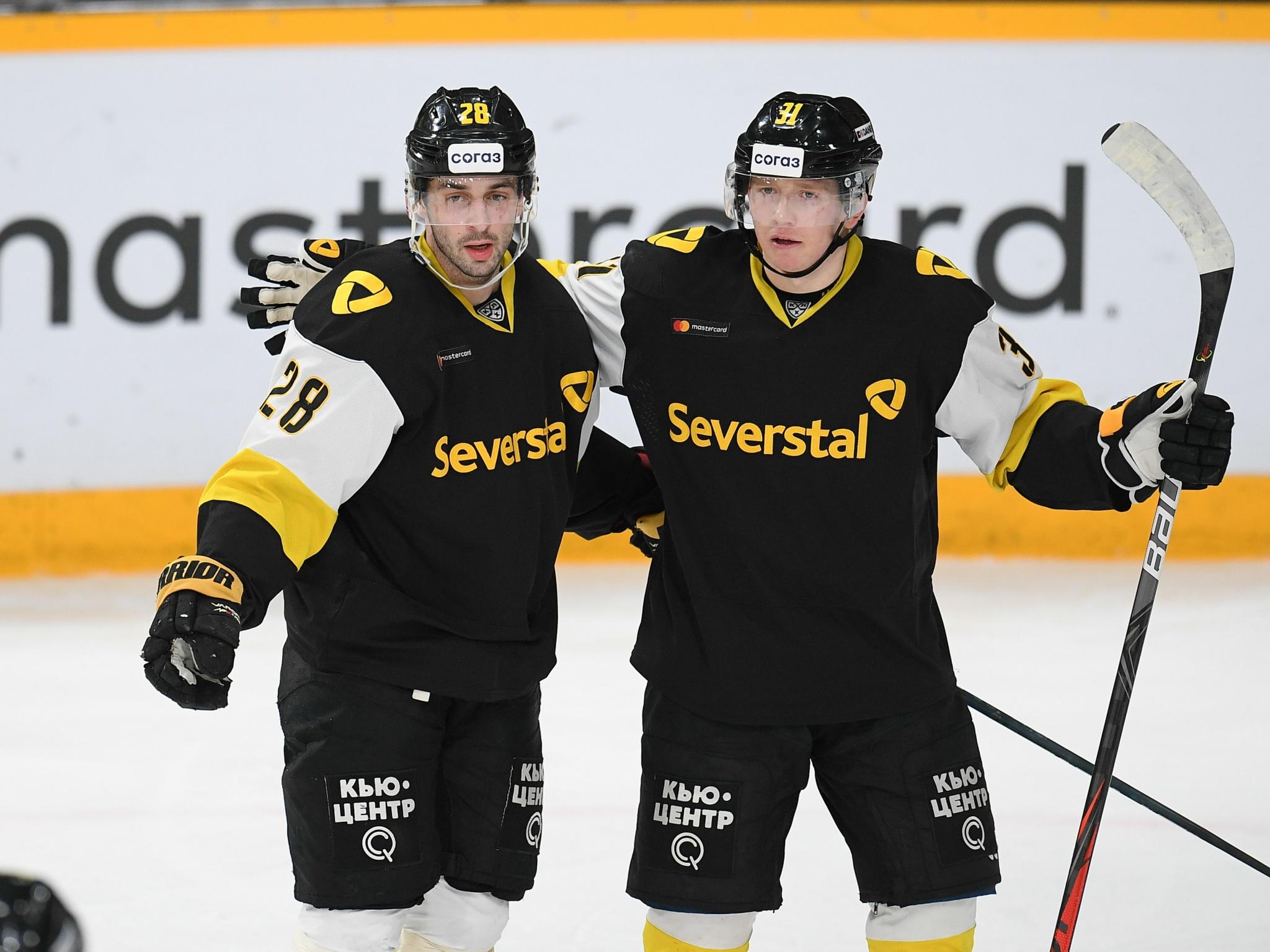 Даниил Вовченко и Александр Петунин. Фото: Александр Коркка
