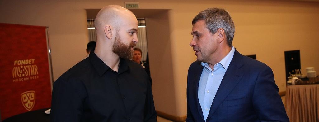 Стефан Да Коста и Дмитрий Квартальнов. Фото: Владимир Беззубов