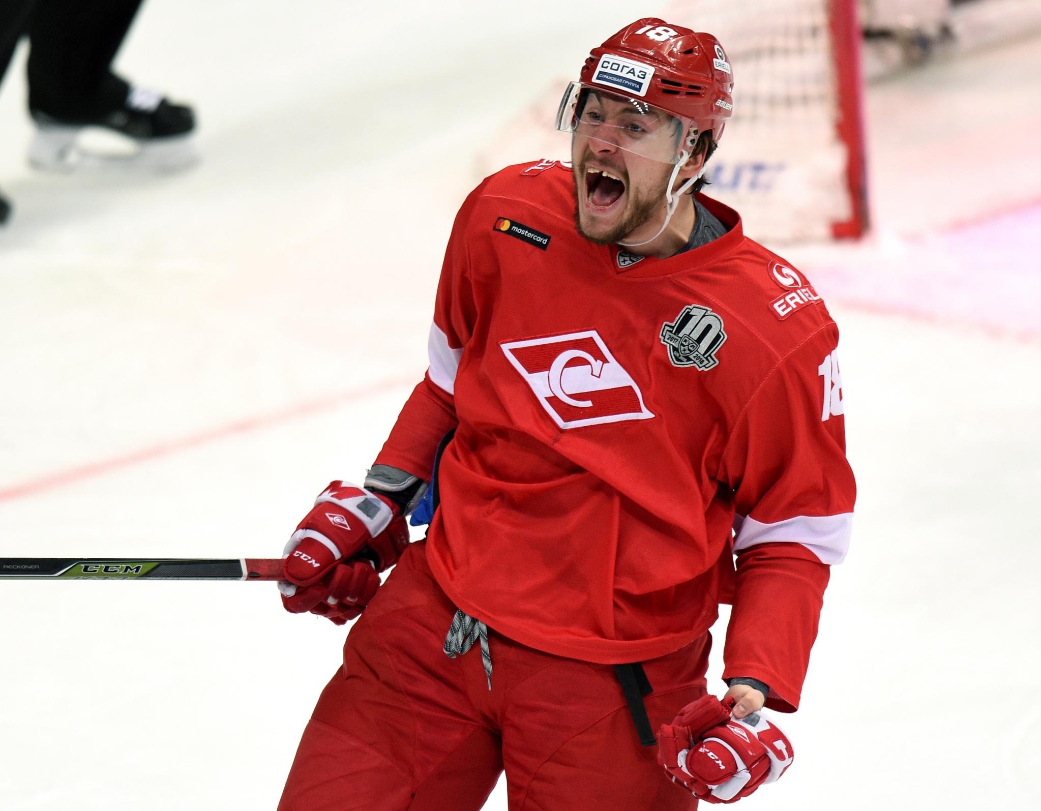 Русские хоккеисты проиграли 1-ый матч под управлением Воробьева