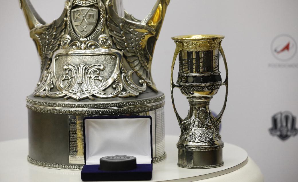 Уменьшенная действительная копия Кубка Гагарина побывает вкосмосе— КХЛ